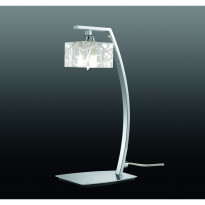 Лампа настольная Mantra Zen Cromo 1427