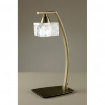 Лампа настольная Mantra Zen Cuero 1437