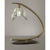 Лампа настольная Mantra Eclipse Cuero 1478