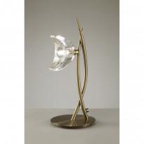 Лампа настольная Mantra Eclipse Cuero 1479