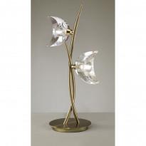 Лампа настольная Mantra Eclipse Cuero 1480