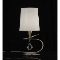 Лампа настольная Mantra Mara Cuero- Pant. Blanca 1629