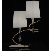 Лампа настольная Mantra Mara Cuero- Pant. Blanca 1631