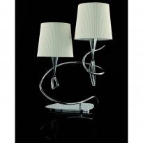 Лампа настольная Mantra Mara Cromo Pant - Blanca 1651