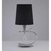 Лампа настольная Mantra Mara Cromo Pant. Negra 1709