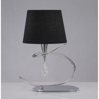 Лампа настольная Mantra Mara Cromo Pant. Negra 1710