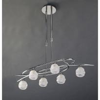 Светильник (Люстра) Mantra Loop Cromo 1801
