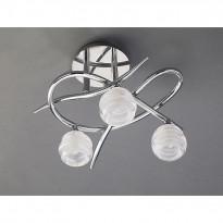 Светильник потолочный Mantra Loop Cromo 1804