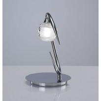 Лампа настольная Mantra Loop Cromo 1807