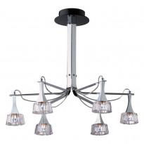 Светильник потолочный N-Light 181-06-13 Chrome + Black