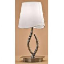 Лампа настольная Mantra Ninette Cuero - Pant. Crema 1937