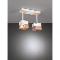Светильник потолочный La Lampada PL 101/2P Wood Natural