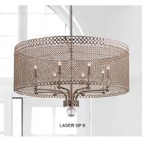 Светильник (Люстра) Crystal Lux LASER SP 8