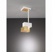Светильник потолочный La Lampada PL 101/1M Wood Gold