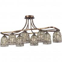 Светильник потолочный N-Light 671-08-53 Spanish Bronze