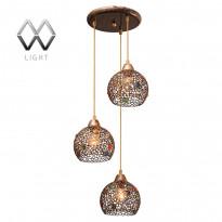 Светильник (Люстра) MW-Light Скарлет 333010903