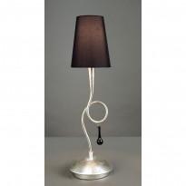 Лампа настольная Mantra Paola Pan Plata 3535