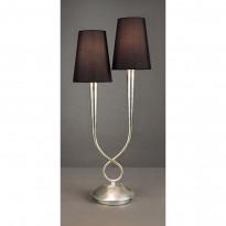 Лампа настольная Mantra Paola Pan Plata 3536