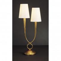 Лампа настольная Mantra Paola Pan Oro 3546