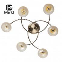 Светильник потолочный DeMarkt Грация 358015006