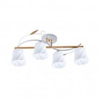 Светильник потолочный IDLamp Annelisa 380/4PF-Whitegold