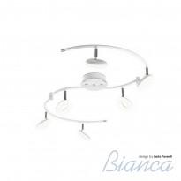 Спот IDLamp Bianca 390/6PF-LEDWhitechrome