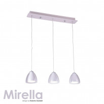 Светильник (Люстра) IDLamp Mirella 394/3-LEDWhite