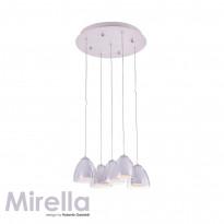 Светильник (Люстра) IDLamp Mirella 394/5-LEDWhite