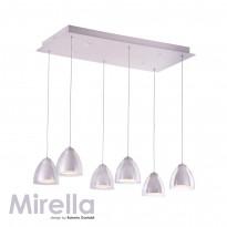 Светильник (Люстра) IDLamp Mirella 394/6-LEDWhite