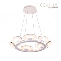 Светильник (Люстра) IDLamp Celia 399/12-LEDWhitechrome