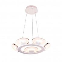Светильник (Люстра) IDLamp Celia 399/9-LEDWhitechrome