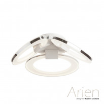 Светильник потолочный IDLamp Arien 400/3PF-LEDWhitechrome