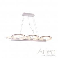 Светильник (Люстра) IDLamp Arien 400/6-LEDWhitechrome