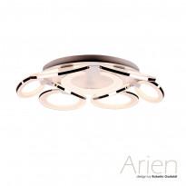 Светильник потолочный IDLamp Arien 400/9PF-LEDWhitechrome