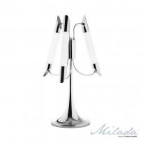 Лампа настольная IDLamp Milada 401/3T-LEDChrome