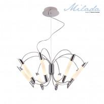 Светильник (Люстра) IDLamp Milada 401/8-LEDChrome