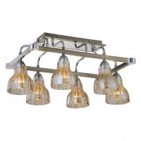 Светильник потолочный N-Light 411-06-53CAB Chrome + Antique Brass