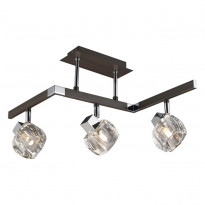 Светильник потолочный N-Light 420-03-17 Chrome + Wengue