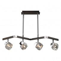 Светильник потолочный N-Light 420-04-17 Chrome + Wengue