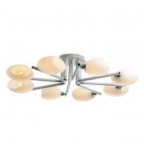 Светильник потолочный N-Light 433-08-73CWC Chrome + White Crack