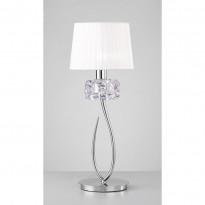 Лампа настольная Mantra Loewe Chrome 4636