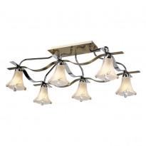 Светильник потолочный N-Light 472-06-13 Chrome + Antique Brass