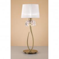 Лампа настольная Mantra Loewe Antique Brass 4736