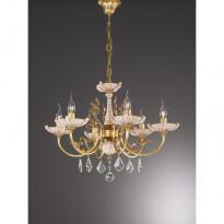 Светильник (Люстра) La Lampada L 590/6.27 Ceramic Antique