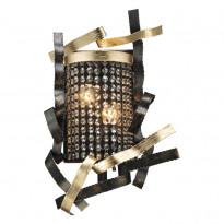 Бра N-Light 555-02-01 Gold + Black + Shampagne Crystal