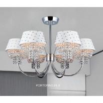 Светильник потолочный Crystal Lux PORTOFINO PL 6