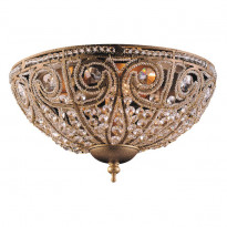 Светильник потолочный N-Light 5962/3 Dark Bronze