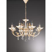 Светильник (Люстра) La Lampada L 590/8.17 Ceramic Gold