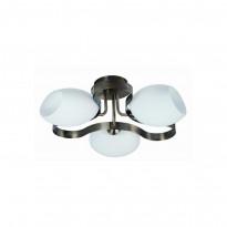 Светильник потолочный IDLamp Martha Sun Bronze 601/3PF-SUNOldbronze