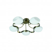 Светильник потолочный IDLamp Martha Sun Bronze 601/5PF-SUNOldbronze